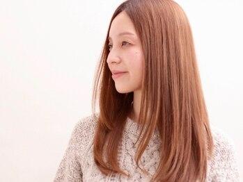 クラップス 横須賀中央店(CLAPS)の写真/≪低ダメージ≫の薬剤を厳選♪広がりをナチュラルにおさえ毛先やわらか◎スタイリングしやすい髪へ・・・☆