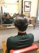 ヘア デザイン スタイリー(Hair Design stylee)ヘアドネーション ショート