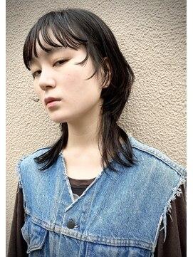 クリアオブヘアー リット(CLEAR of hair LiT)黒髪ウルフスタイル