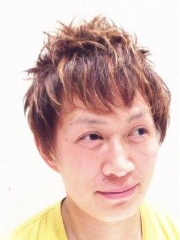 ミエル ヘア(miel HAIR)の写真/男性のお客様も多数来店しているサロン☆1人1人のシーンに合わせて、スタイルを提案してくれるのも嬉しい◎