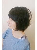 ファルコヘア 立川店(FALCO hair)黒髪でショートボブヘア