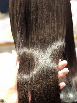 髪質改善ヘアエステサロン スロウ(SLOW by opsia)の写真/[カットエステ以外のメニュー髪質改善ヘアエステ付]パーマやカラーを繰り返すほど髪がキレイに扱いやすく◎
