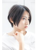リゾートフォーヘアー 嵯峨店(ReSORT FOR HAIR)クールに艶めく大人ショート