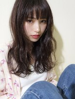 マイ ヘア デザイン(MY hair design)MY hair design ラフセミディシースルーバング