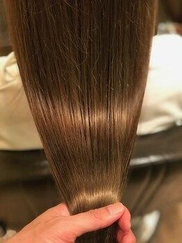 オハナ(ohana)の写真/『髪質改善』ohanaでしか体験できない話題の髪質改善トリートメントで思わず触れたくなる髪へ。【表参道】