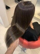 ヘアーリゾートラシックアールプラス(hair resort lachiq R+)《R+》ラベンダー×艶ロング