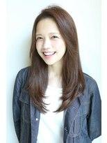 ヘアーメイク リアン 新田辺店(Hair Make REAN)サラサラセミロングスタイル