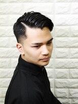 ベンケイ(HAIR AVENUE benkei)hard part fade