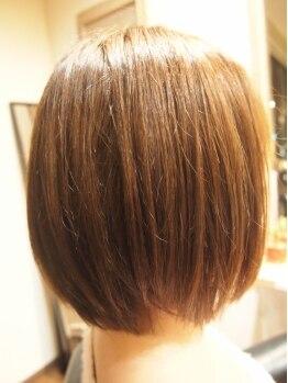 パーソナルサロン リエット(Parsonal Salon LIETTO)の写真/◆ふんわり仕上がる自然な縮毛矯正◆根本のクセはしっかりストレート&柔らかで丸みのある毛先を実現!