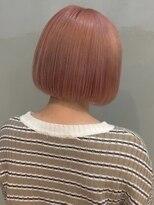 ソース ヘア アトリエ(Source hair atelier)【SOURCE】コーラルピンク