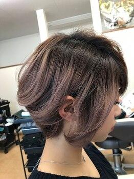 イーズヘアー(Eaze hair)の写真/丁寧なカウンセリングと再現性の高いデザイン力で、気分転換や季節の変わり目にイメージチェンジ♪