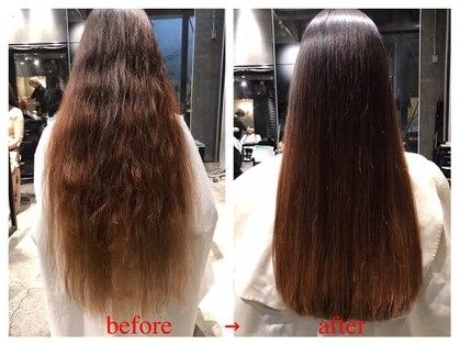 髪質改善と縮毛矯正の専門店 サンティエ(scintiller)の写真