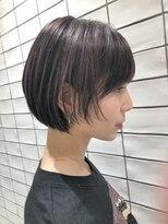 2020年冬】ショート ハイライトの髪型・ヘアアレンジ|人気順