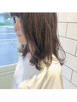 アルマヘアー(Alma hair by murasaki)重めのロングスタイル