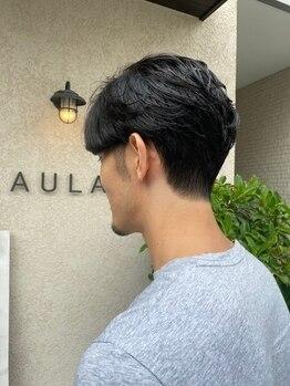 アウラ(AULA)の写真/≪爽やかなメンズスタイル≫ON/OFF使い分けられる、アレンジしやすいスタイルで印象UP◎