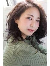 ヘアメイク アーリア(hair make aria)大人かわいいセミロングレイヤー