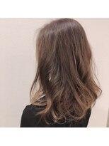 ヘアーエスクールステラ(hair S.COEUR stella)ハイライト グーレジュカラー