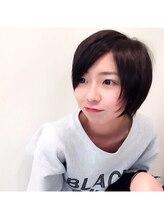 モッズ ヘア 清水店(mod's hair)さらっとキュートな小顔ショート