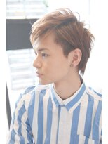 【デュアプレ】2ブロックメンズショート