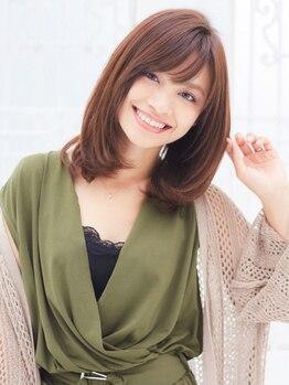 ジョリス(Jolies)の写真/髪や頭皮に優しいカラー剤とオゾンの効果により健康な美髪へ!!上質な仕上がりを求めるあなたにオススメ☆