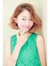 ルーヴル トータル ビューティ サロン 生駒(LOUVRE Total Beauty Salon)外国人ボブ風リラックス