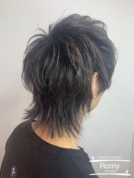 ロミー(Romy)の写真/【メンズカット+プチヘッドスパ¥3500】全MENUヘッドスパ付きで頭皮ケアも◎高円寺駅すぐの美容室