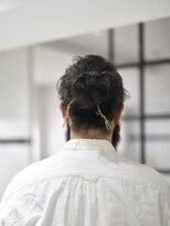 簡単スタイリングの メンズヘア【BANKSIA STYLE】No.00121