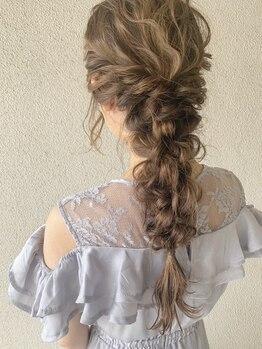 アモレット(amoretto)の写真/[女性専用サロン☆愛されStyle]ほかとはひと味違うamorettoらしいスタイルで、大切な1日をHappyに♪