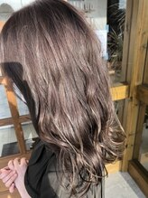 ビューティースペースラルジュヘアー(Beauty Space Large hair)シルキーベージュカラー