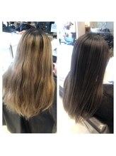 リベルタ(Liberta)髪質改善矯正+アディクシーカラー