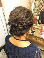ヘアセットサロン アトリエ チャイ(Hair set salon atelier CHAI)なみゆるアップ