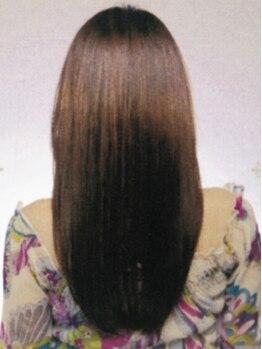 美容室カレン(Karen)の写真/【西京極】スタイリングが簡単な素敵スタイルを提案!ナチュラル系デジタルパーマ、縮毛矯正がオススメ☆
