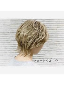 ビス ヘア アンド ビューティー 西新井店(Vis Hair&Beauty)ショートウルフ/アッシュベージュ/ネオウルフ/マッシュウルフ
