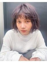 スーリール イマイズミ(Sourire Imaizumi)《sourire imizumi 堀本》ボブ、ラベンダーアッシュ