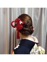 イチコ(ichiko)【結婚式】【受付】面スタイルの振袖アップ《ichiko》