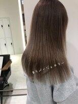 ラノバイヘアー(Lano by HAIR)【lano by hair 銀座】 ココアブラウンネイビーカラー