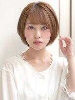 ★30代40代50代小顔カットボブルフ透け感艶カラークールショート