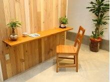 レセ 流山店(LAISSEZ)の雰囲気(木のぬくもり溢れる待合スペース☆「流山」)