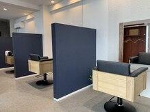 ロワ(Rowa)の雰囲気(各セット面は、壁で仕切ってある半個室型です。)