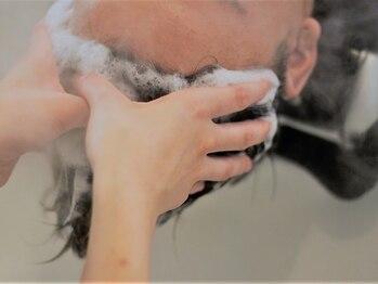 ノイセル(Noisyle)の写真/【西長堀すぐ/最終受付21時まで】健康な髪へと導く《本格ヘッドスパ》で頭皮をケア、男性特有の悩みを改善!