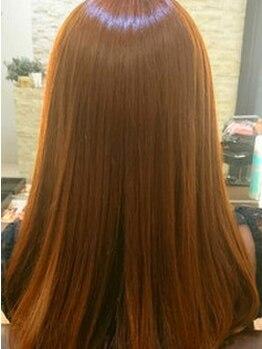 アミエ(amie)の写真/【阪神御影1分】1人1人のクセやうねりを見極め、自然なストレートヘアを実現!!今までにない美しい髪質に