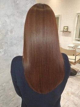 ミューズ 新瑞橋店(MUSE)の写真/【新瑞橋駅すぐ】髪質改善できる話題の《Aujua》取扱い!オーダーメイドのヘアケアでうる艶を手に入れて♪