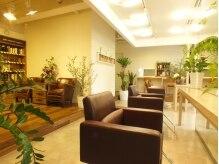 オーガニックサロン フェイス 茶屋町店(organic salon face)の雰囲気(緑に囲まれ隠れ家的な雰囲気でリラックスできます。)