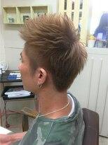 ファシオ ヘア デザイン(faccio hair design)ツーブロック×ダブルカラー