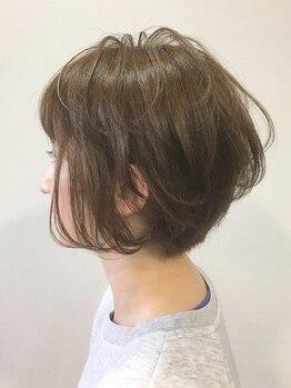 グロウズ ヘアー(GROWS HAIR)の写真/ショートヘアが得意なStylistがマンツーマンでしっかりカウンセリング!自分でも扱いやすいとリピーター多数