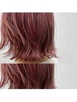 リゾートフォーヘアー 嵯峨店(ReSORT FOR HAIR)ピンクカラー