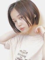 アグ ヘアー リノ 大名店(Agu hair reno)《Agu hair》クールなストレートボブ