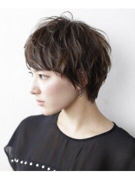 ガーデントウキョウ(GARDEN Tokyo) [ GARDEN ] 黒髪 × ナチュラルベリーショート (久