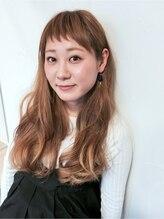 リルア 博多(LIRUA)オン眉短め前髪& グレージュハイライト