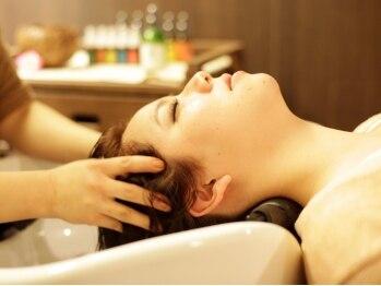 レシェル 伊勢店(RECIEL)の写真/世界のスパを楽しめる、特別なヘッドスパ専用のフロアをご用意♪癒しのスパタイムで艶めく美髪へ導きます。